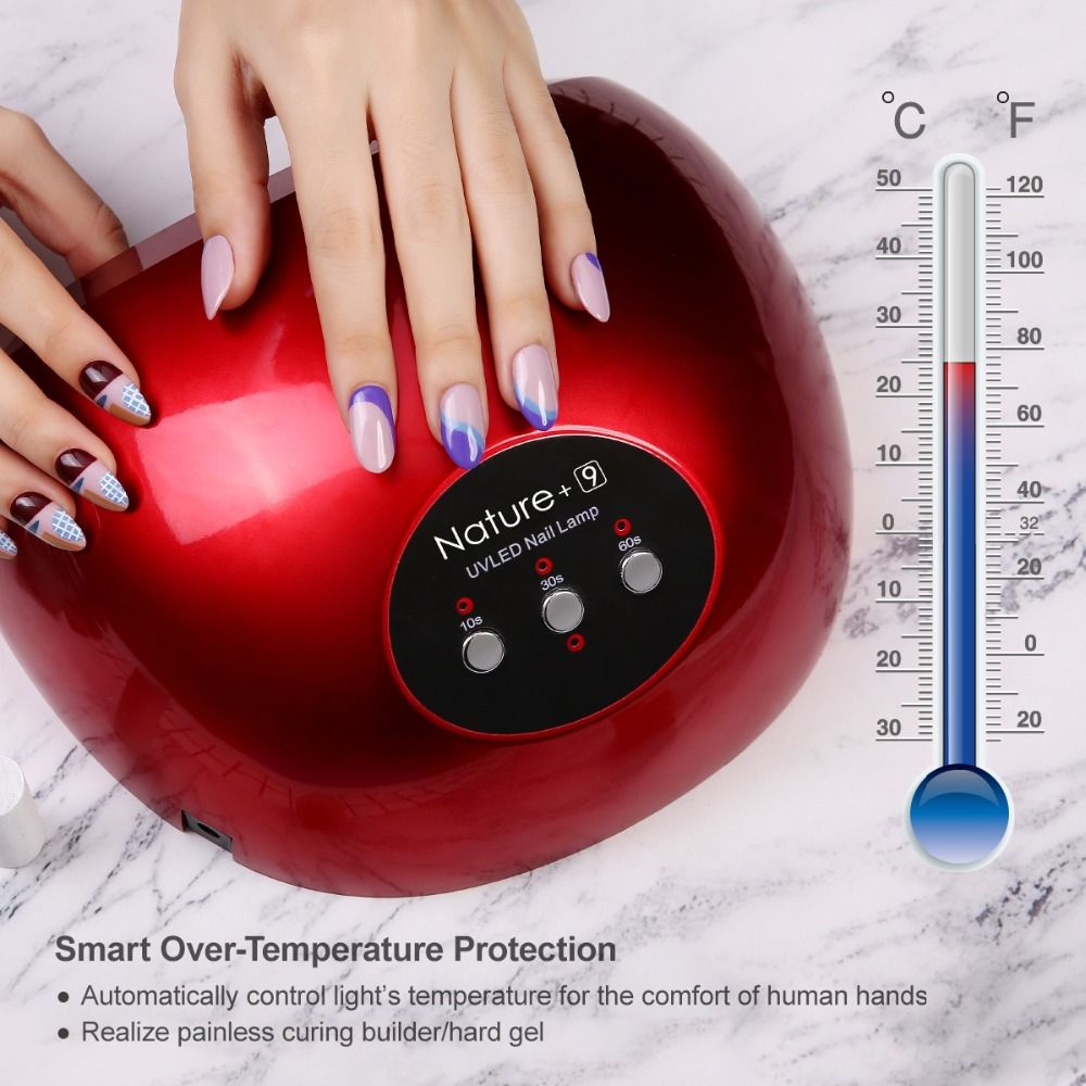 Azure Beauty 48W UV Led Nail Dryer For Professional Nail Art Salon&Home Use Nail Gel Lacquer Dryer High Quality Nail Arts Lamp