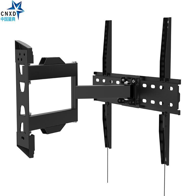 Support mural TV à mouvement complet support pivotant à inclinaison universelle support de moniteur pour écran LCD LED HD Plasma TV MAX VESA 400*400mm