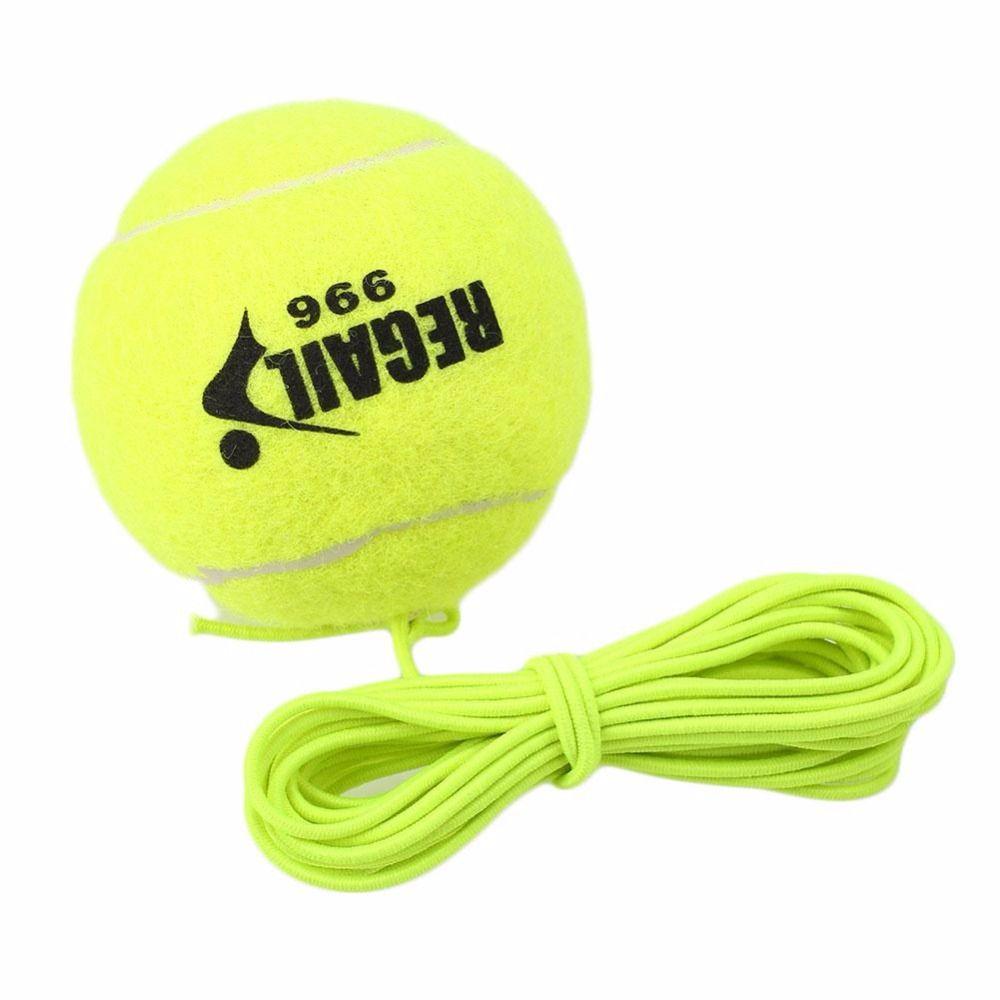 REGAIL Neue Single Paket Tennisball Mit String Bohrer Tennis Trainer Ersatz Gummi Woolen Ausbildung Trainingsbälle Sport