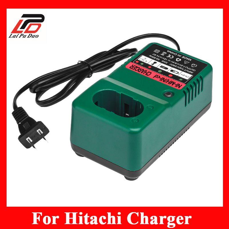 Chargeur de batterie de perceuse sans fil de remplacement pour Hitachi 7.2 V 9.6 V 12 V NI-CD chargeur de batterie NI-MH