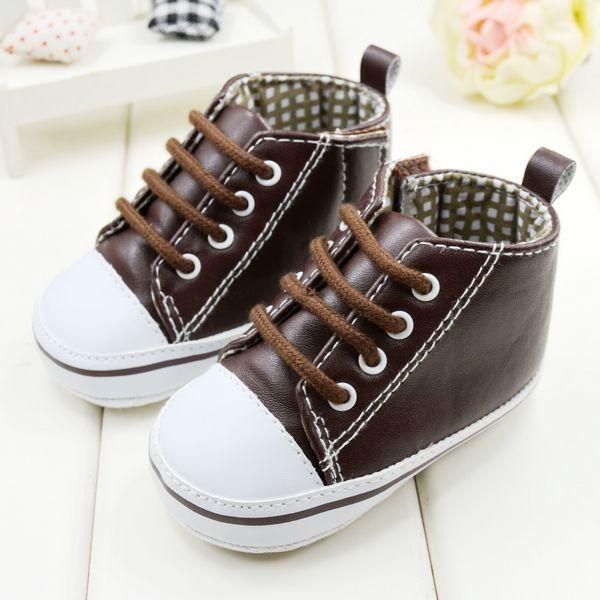 Moda Zapatos de Bebé Del Niño Recién Nacido Cuna Zapatos de Niño Y Niñas para Ocio Zapatos de Deporte de Primavera Otoño Zapatos Infantiles Primeros Caminante