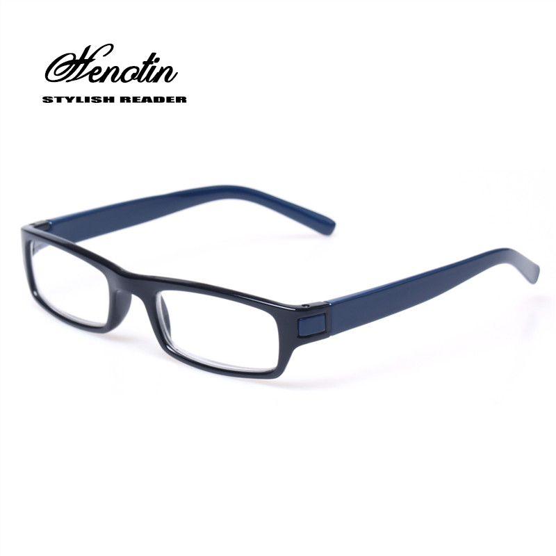 Lunettes de lecture marque de mode lentille claire en plastique lunettes lumière hommes femmes couleur lunettes presbyte lunettes Diopter 0.5 à 6.0