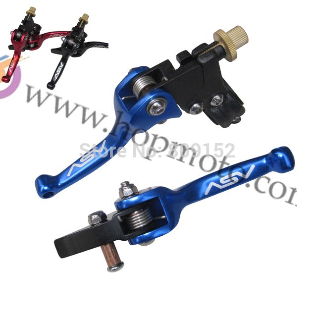 ASV clutch and brake folding lever for dirt bike/pit bike off road motorcycle motocross spare parts