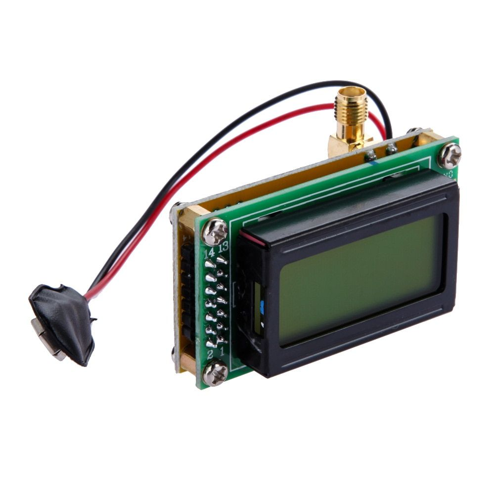 High Accuracy 1-500 MHz Max 640Mhz Cymometer Frequency Counter Module Tester Measurement Frequency Meter Counting Tool