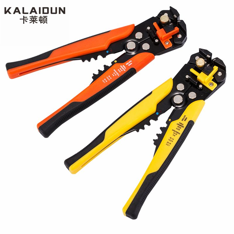 KALAIDUN Multifunctional automatic <font><b>stripping</b></font> pliers Cable wire <font><b>Stripping</b></font> Crimping tools Cutting Multi Tool Pliers Hand tools