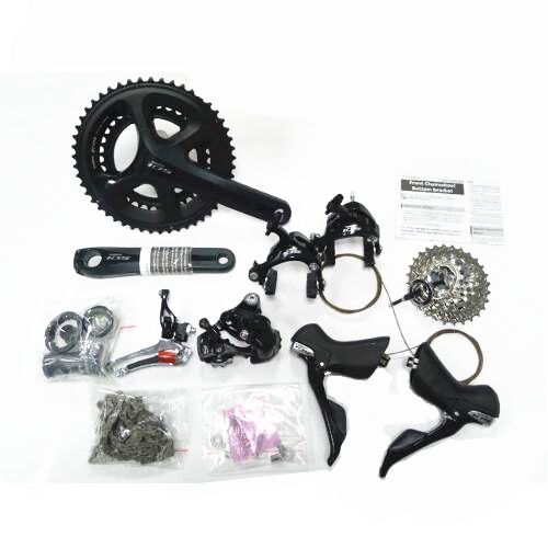 shimano 105 5800 road bike groupset 5800 11s groupset Road bicycle group 170/172.5/175mm 50-34T 52-36T 53-39T Groupset
