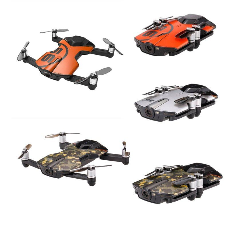 Wingsland S6 GPS WI-FI APP Control 4K UHD Camera Foldable Arm Pocket Selfie Drone WiFi FPV RC Quadcopter VS JJRC H47 H37