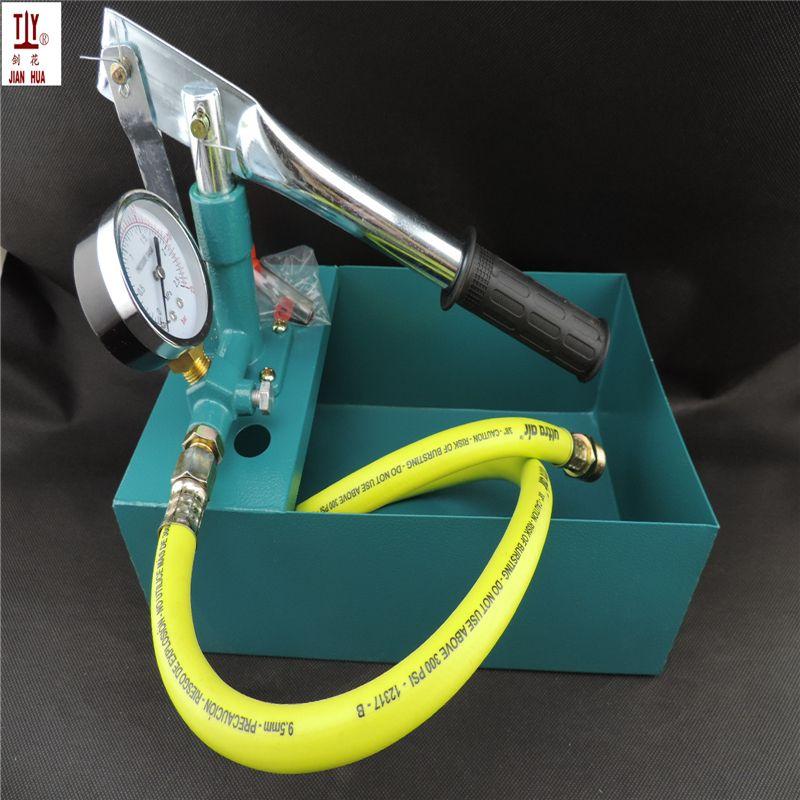 Un Nouveau 25 kg main pompe d'essai de pression 2.5bar, JH-SB25 Eau Manuelle Pompe D'essai De Pression De Tuyau