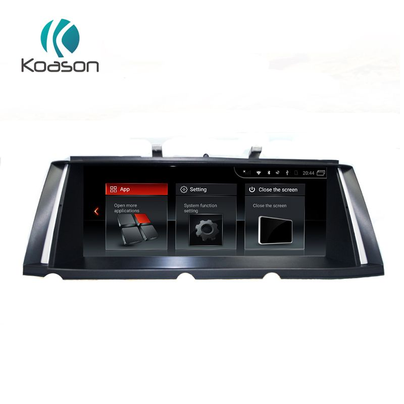 Koason 10,25 inch IPS Bildschirm Android 7.1 System Auto Audio Multimedia-Player für BMW 7 Serie F01 CIC 2009-2012 GPS navigation