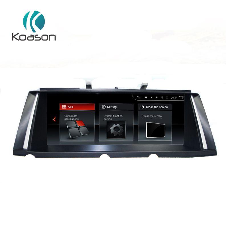 Koason 10,25 inch IPS Bildschirm Android 7.1 System Auto Audio Multimedia-Player für BMW 7 Serie F01 CIC 2009-2012 GPS navigation