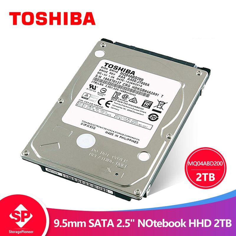 TOSHIBA 2 tb Interne HDD HD 2,5