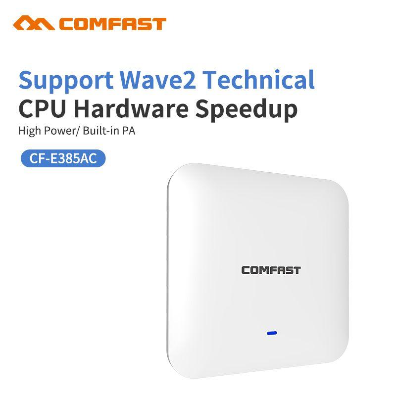 2200 Mbps Gigabit Leistungsstarke Indoor Decke Drahtlose WiFi Access Point AP Wi-Fi Repeater 1*10/100/100 0 Mbps Wan/WAN Extender Router