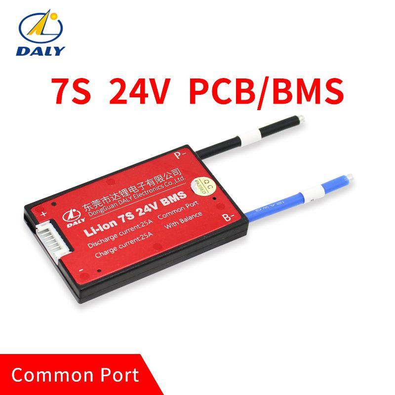 Imperméable à l'eau 7 S 15A 25A 35A 45A 60A 24 V panneau de Protection de batterie au Lithium BMS Charge électrique Li Lipo NiCoMn cellules ioniques avec équilibre