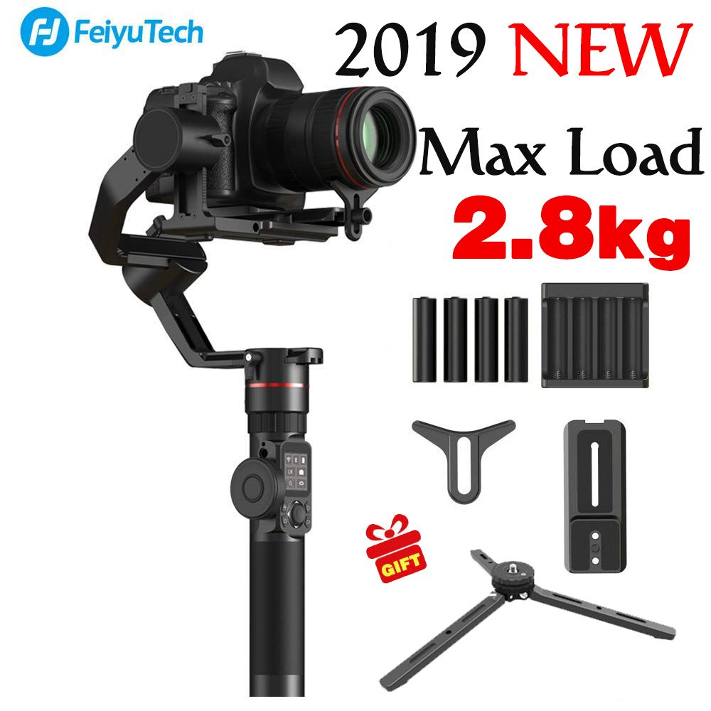 2018 NEWEST FeiyuTech feiyu AK2000 3 Axis Gimbal Stabilizer Handheld for NIKON SONY CANON DSLR Camera Gopro Action 2.8kg Payload