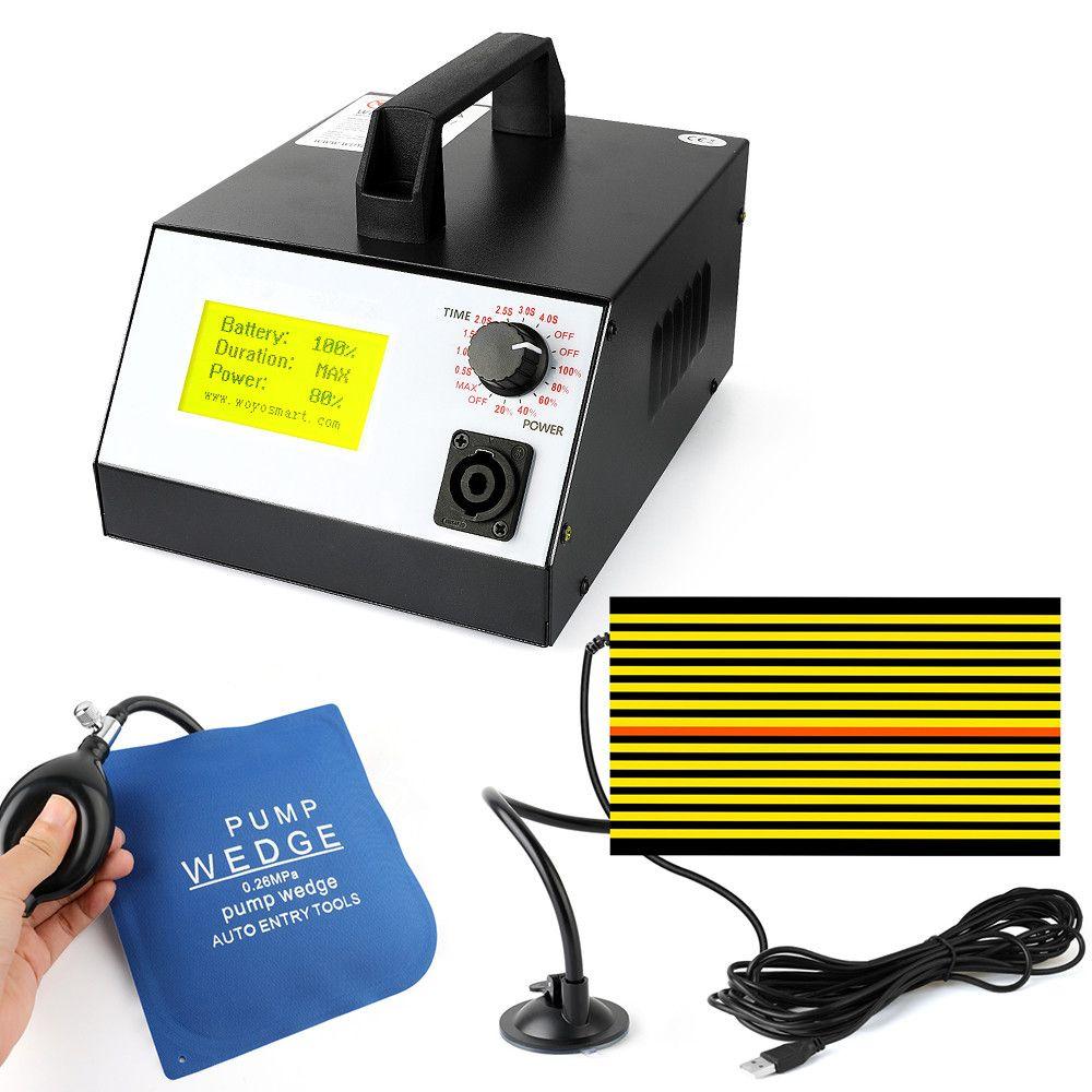 WOYO PDR-007 Heißer Box PDR007 Mit Hand Pumpe Airbag Led Liht Induktion Heizung Für Entfernen Dellen Blatt Metall Werkzeuge Dent reparatur