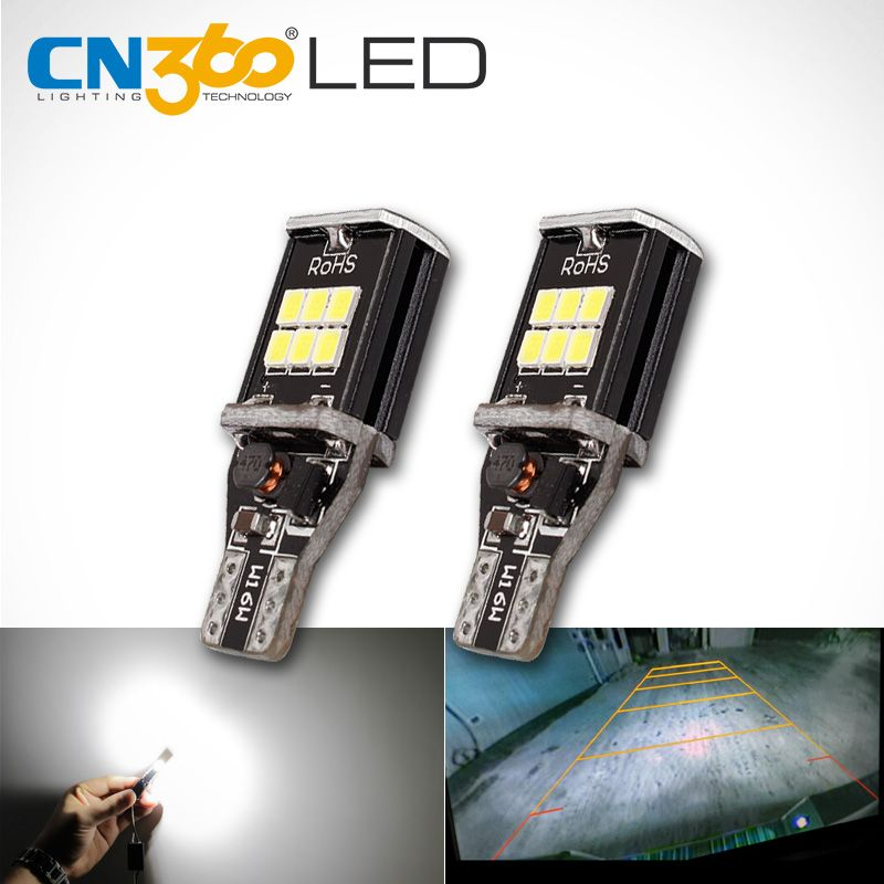 CN360 2 stücke Extrem Helle High Power Canbus SMD2835 912 921 T15 W16W Auto LED Glühbirne