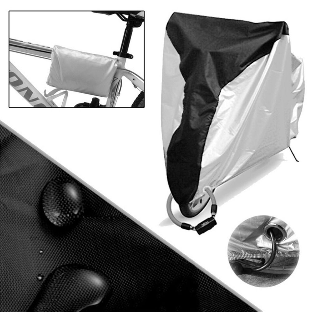 Bike Riding Bicycle Utility Cycling Rain Dust Cover Waterproof Outdoor Scooter Protective Against Dirt UV Rays Protector Covers