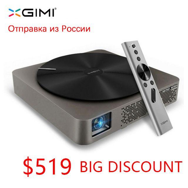 Mini tragbare xgimi Z4 aurora smart home theater wifi projektoren full hd led DLP unterstützung 1080 p 3d Tv kino für maltimedia