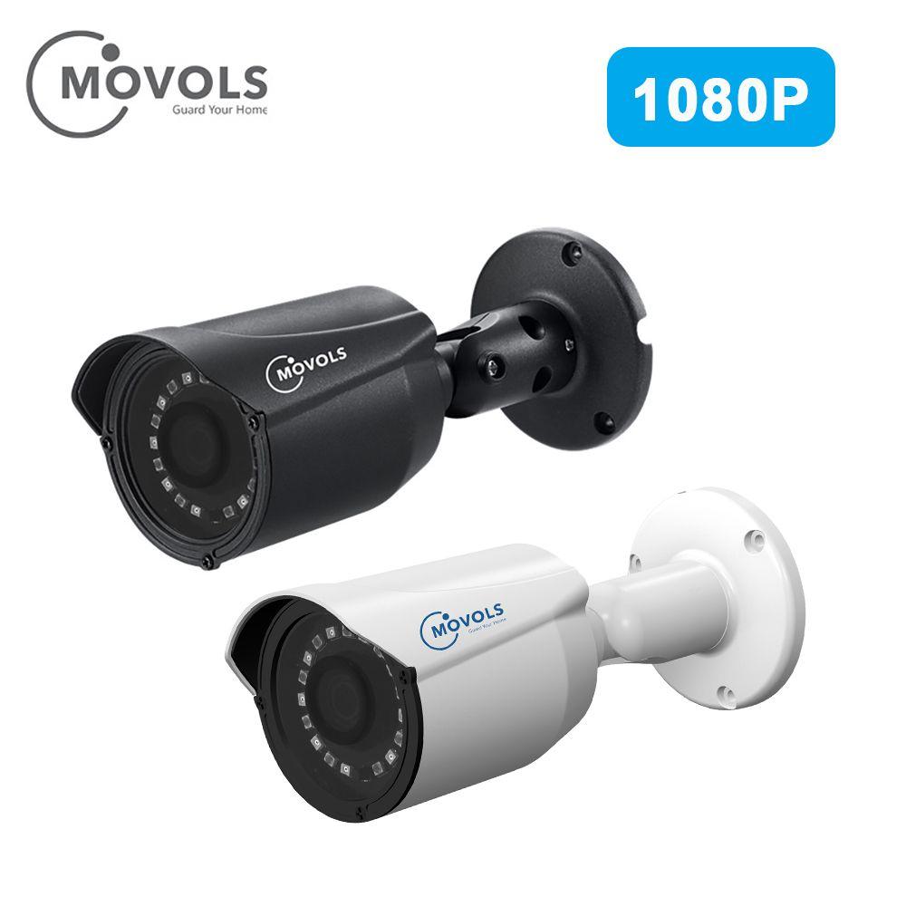 Caméra de sécurité MOVOLS caméra étanche extérieure 1080P AHD/TVI/CVI/CVBS caméra analogique CCTV capteur Sony balle de salle varifocale