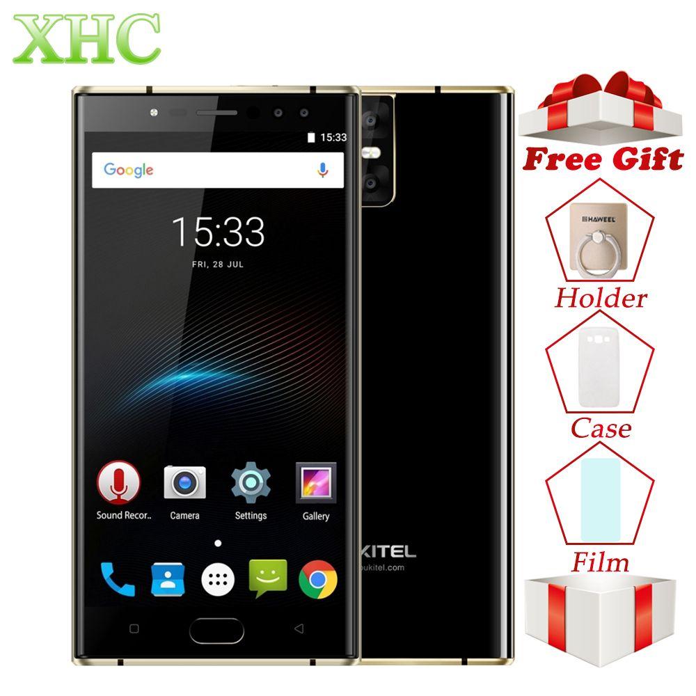 Original OUKITEL K3 5.5'' Smartphones 4GB+64GB Android 7.0 MT6750T Octa Core 1920*1080 FHD 6000mAh 16MP+16MP Dual SIM Cellphones