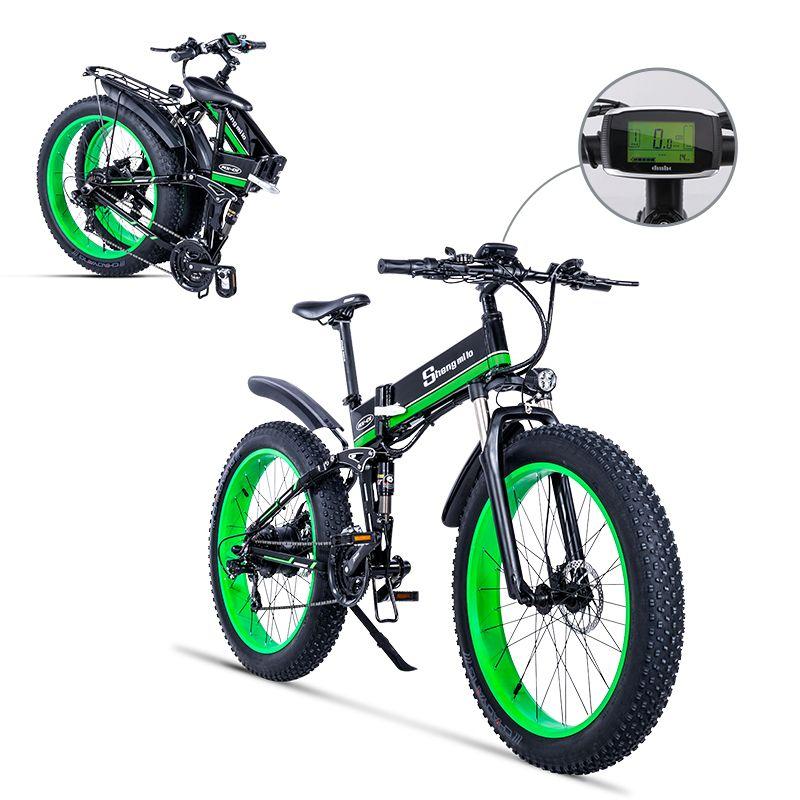 Elektrische fahrrad 1000W Elektrische Strand Bike 4,0 Fett Reifen Elektrische Bike 48V Herren Mountainbike Schnee E- bike 26 zoll Fahrrad