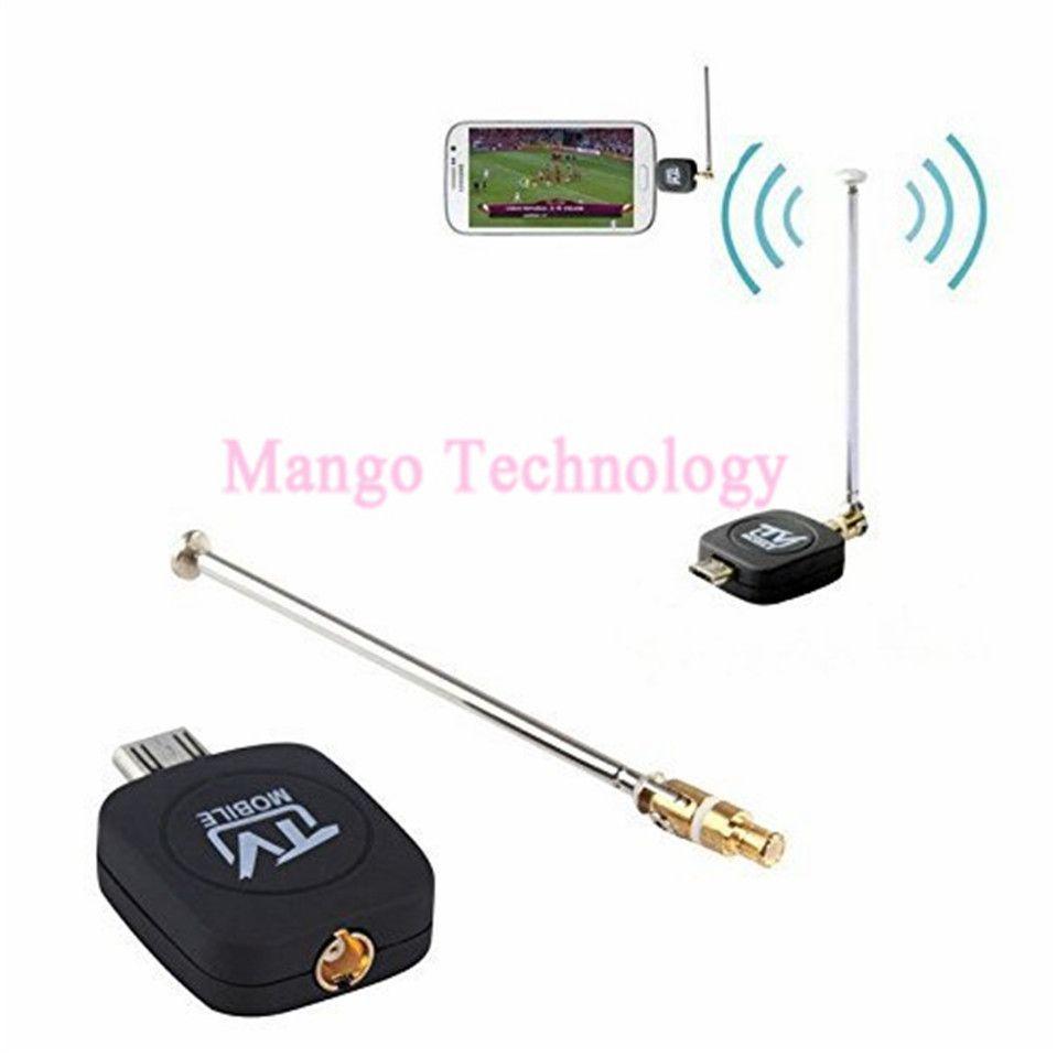 2018 hohe Qualität 2,0 Mobile TV Unterstützt DVB-T Und ISDB-T TV-Tuner-Stick für Android-Handy/Pad ezTV Micro USB Freies verschiffen
