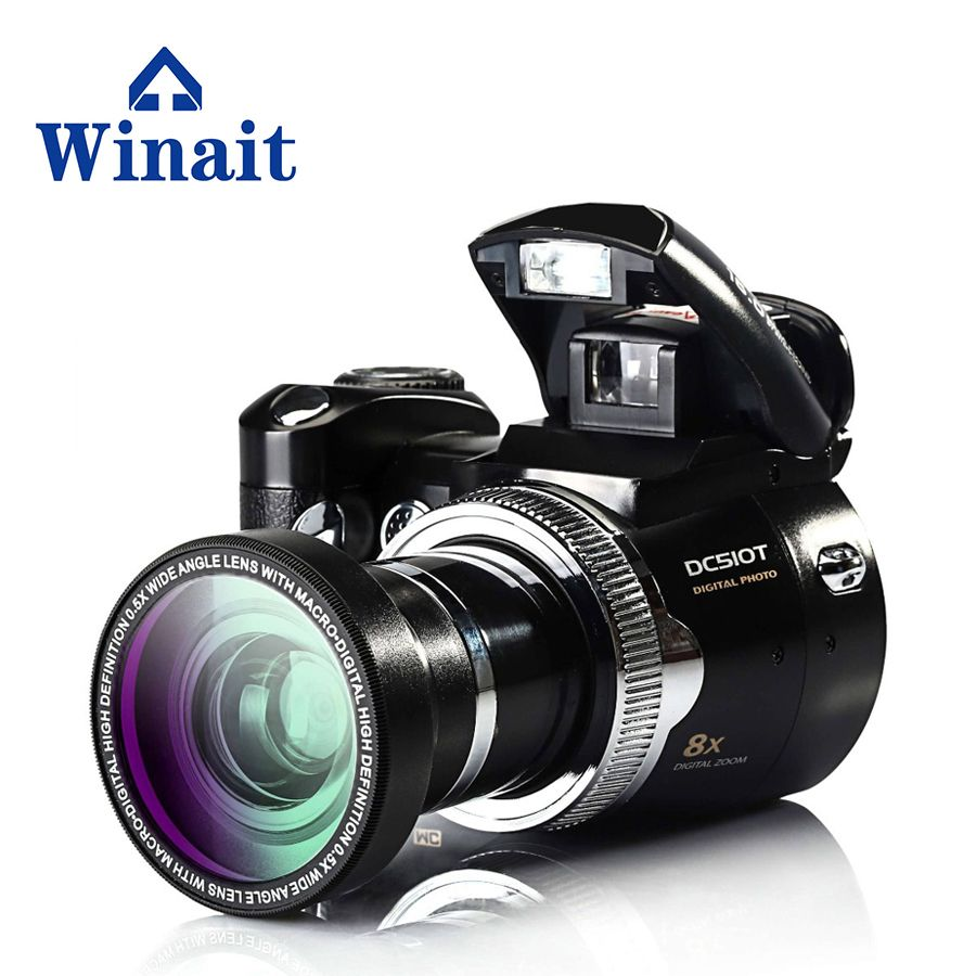 Digital Camera Compact Photo Camera 16MP 720P HD Video Fixed focus Optical Zoom 2.4