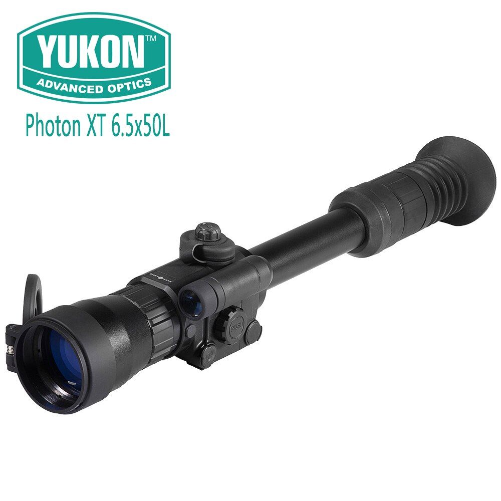 Yukon Photon XT Series 6.5x50L Digital Night Vision Riflescopes Electronic Reticles Day and Night Use Hunting Shooting Scope
