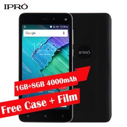 Big Battery 4000mAh Smartphone Original IPRO More 5.0 Unlocked Cellular Phone 5.0 inch 1GB RAM 8GB ROM Quad Core Mobile phone