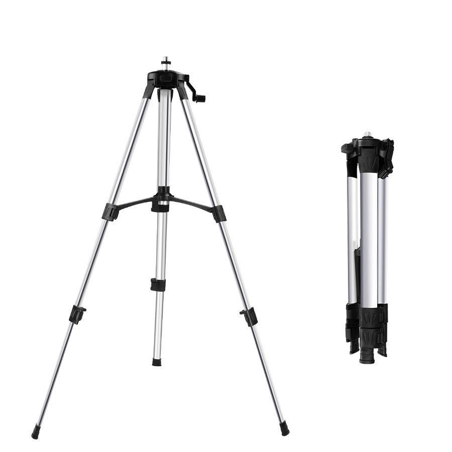 Trépied de niveau Laser 1.2 M/1.5 M hauteur réglable épaissir le support de trépied en aluminium pour le nivellement automatique