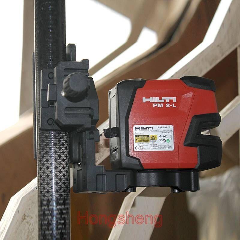 Nouveau niveau laser PM 2 l ligne laser projecteurs ligne Laser inclus support trois pièces