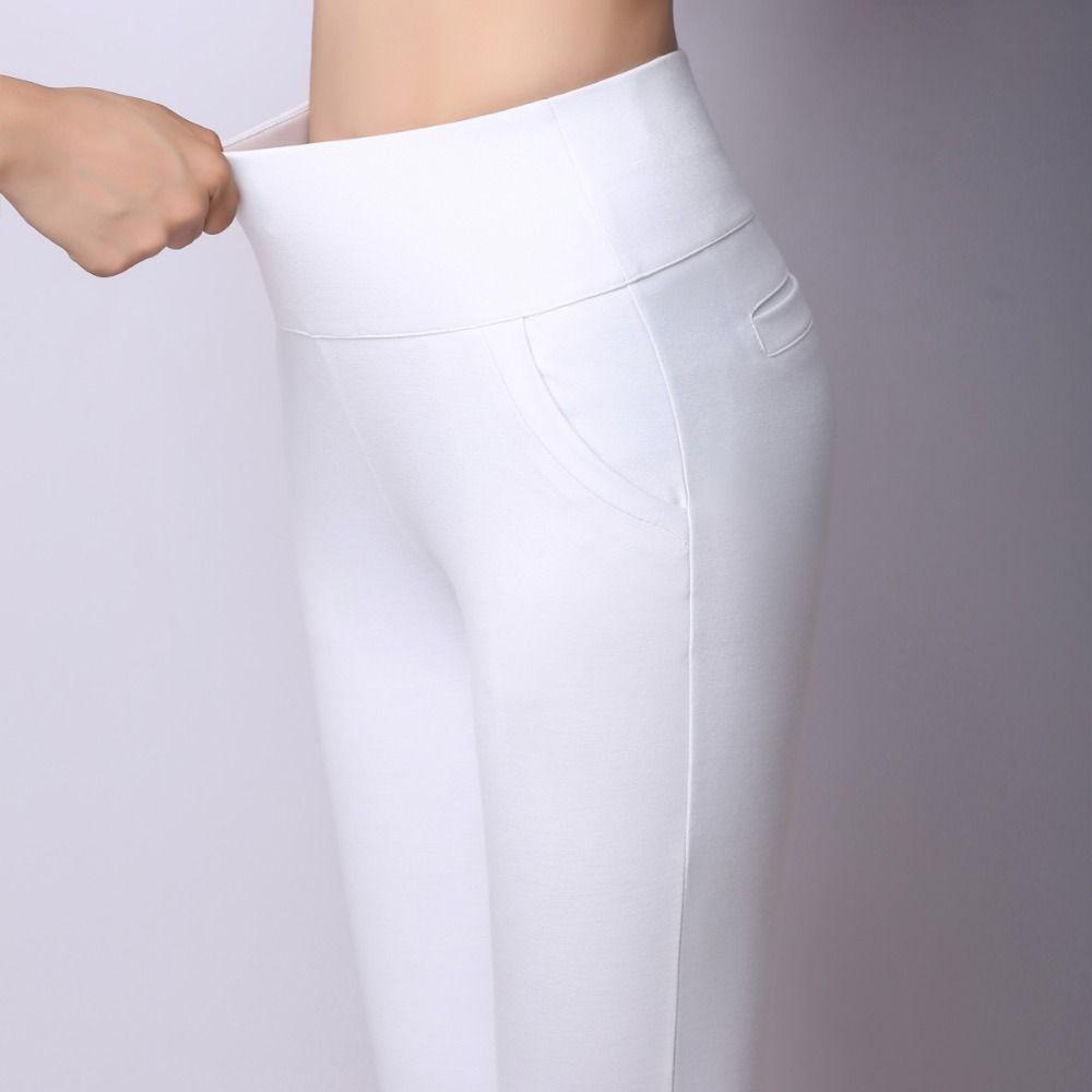 2016 printemps été automne femmes Slim pantalons décontractés travail porter un pantalon droit crayon pantalon femmes pantalon femme pantalon femme