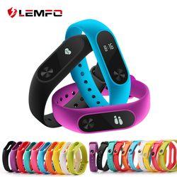 LEMFO Accesorios inteligentes para mi banda 2 Correa de silicona pulsera de repuesto para Xiao mi banda 2 Correa de muñeca colorida