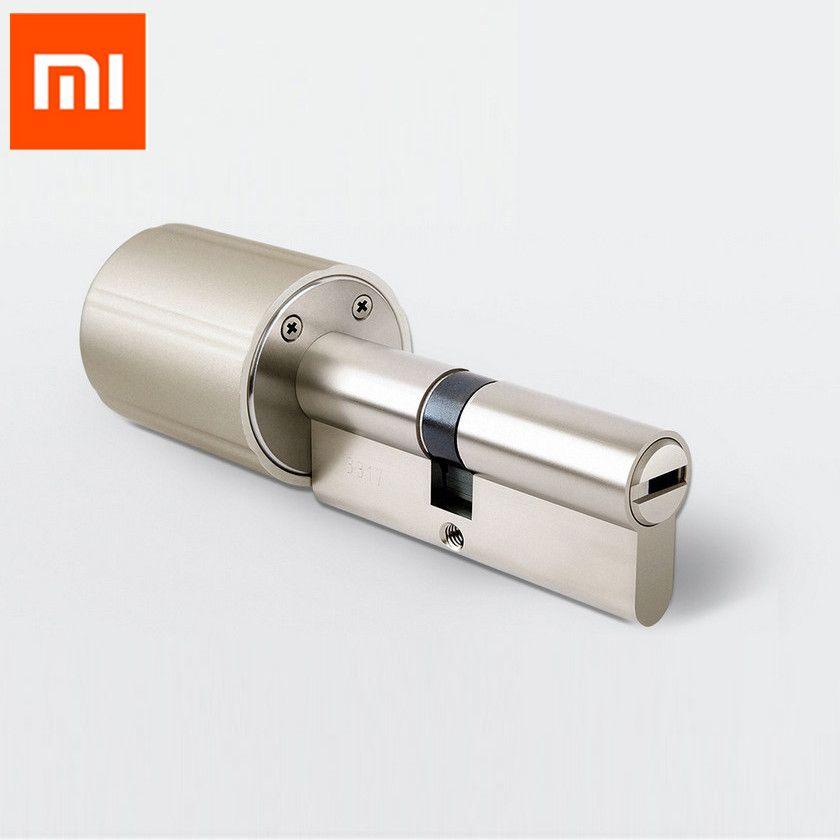 Xiaomi Vima Smart Lock Cylinder Intelligent Practical Anti-theft Securtiy Door Lock Core 128-Bit Encryption w/ Keys ZYJ 80-40/40