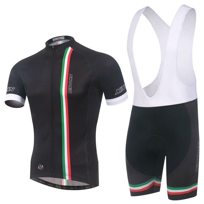 2018 Summer Mens Ropa Ciclismo Cycling Jersey Cycling Clothing Set Outdoor Bike Jersey Shirt Bib Shorts Set L045