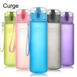 CURGE Brand BPA Free Leak Proof Sports Water Bottle High Quality Tour Hiking Portable Bottles 400ml 560ml #1112