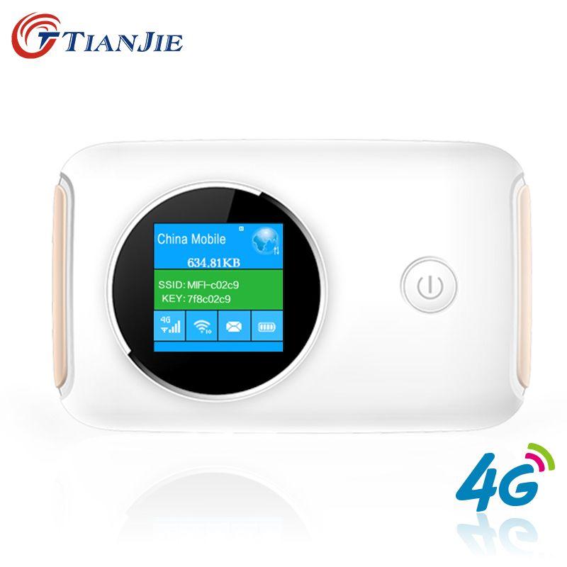 4G Wifi Router Auto Mobile Wifi Hotspot Wireless Broadband Mifi Entsperrt Modem Mit Sim Einbauschlitz