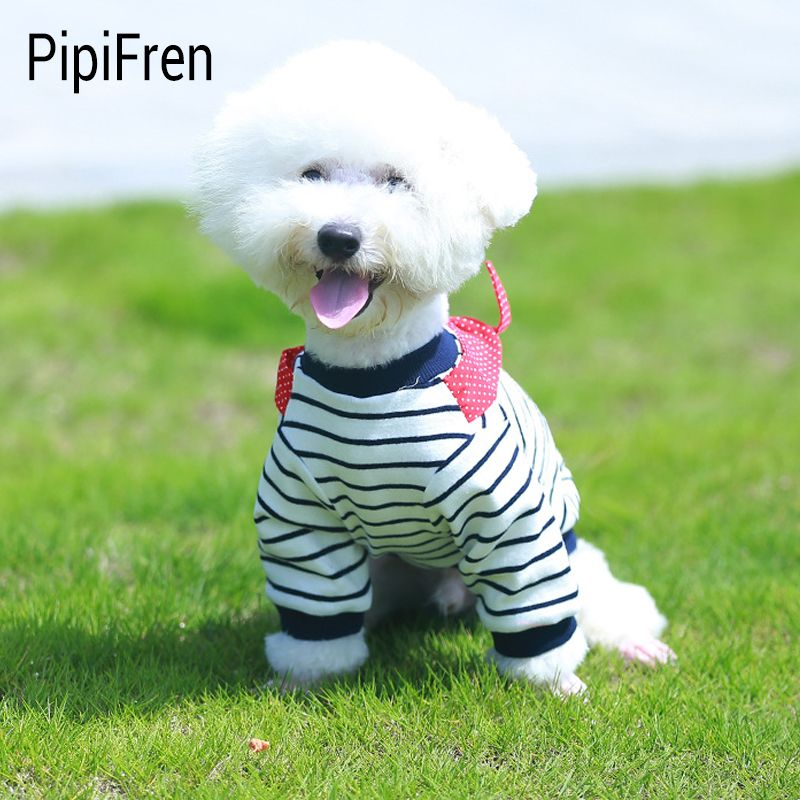 PipiFren Petits Chiens T Chemises Printemps Bande Dessinée Chihuahua Vie Gilets Animaux Vêtements Petit Chien Vêtements Chats Yorkies chemisette perro