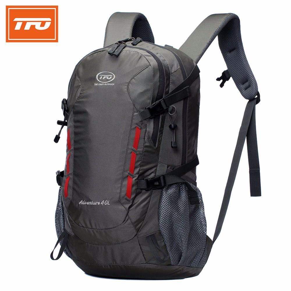 TFO 40L Waterproof Hiking Backpack bags Outdoor backpack Camping Mountain Sport Climbing Travel Men Women hiking backpacks 2017