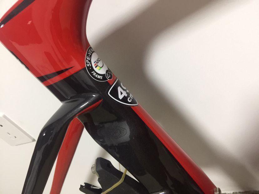 Neueste stil glänzend fertig rot schwarz carbon-fahrradrahmen vas veg rennrad carbon framest 49/52/54/56/58 cm made in china