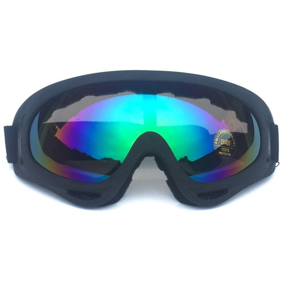 Winter Schnee Sport Skifahren Snowboard Schneemobil Anti-fog Goggles Winddicht Staubdicht Gläser Anti-fog Gespiegelt Objektiv Brille