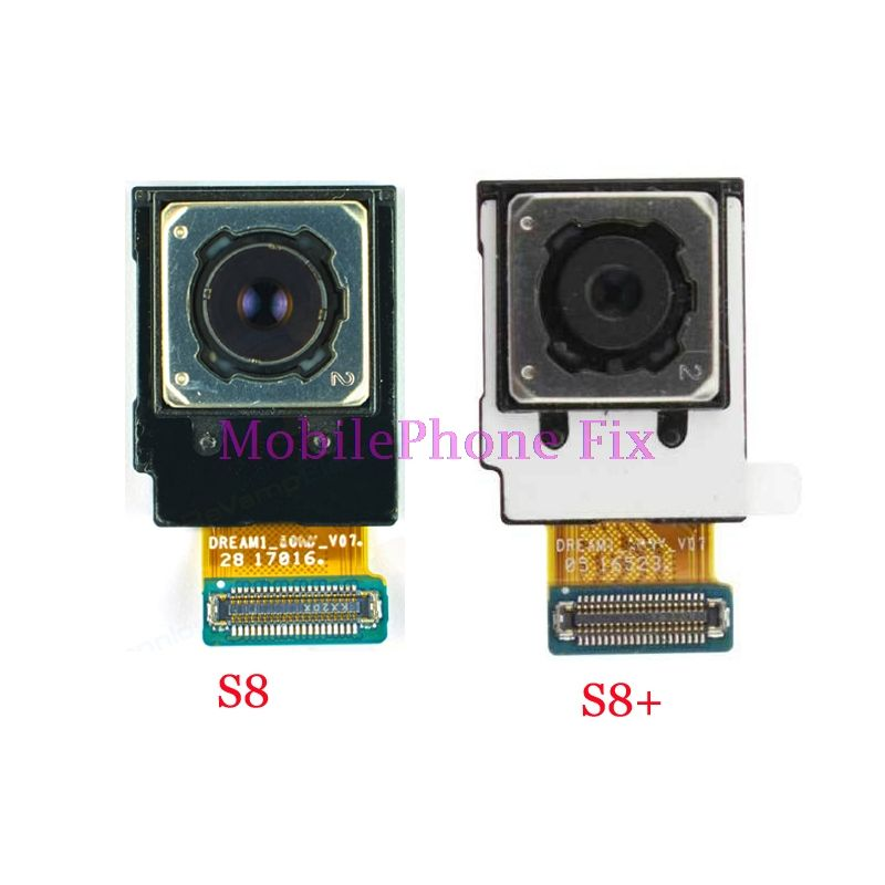 Tested Original Back Rear Camera For Samsung Galaxy S8 G950 , S8 Plus S8+ G955 Main Cam Module Flex Cable Parts