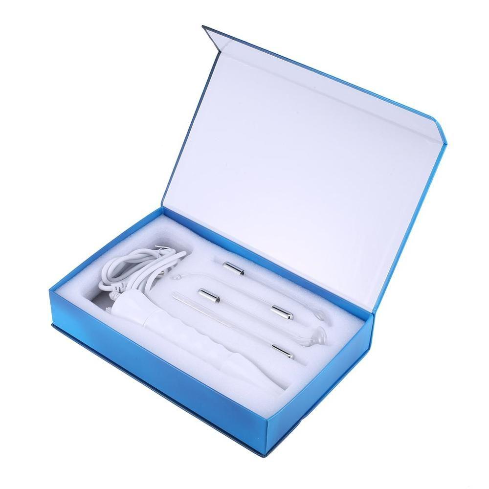 Peau D'arsonval à haute fréquence portative serrant le dispositif de retrait d'acné de dissolvant de tache d'acné Machine de beauté outil de soin de peau de visage