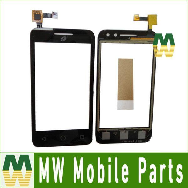 1PC/ Lot For Alcatel Pixi 4 OT 4034 4034D 4034X OT4034 OT4034D 4034 Touch Panel Touch Screen Digitizer Black Color With Tape
