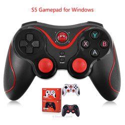 S5/S3 Gamepad teléfono inteligente controlador de juego Joystick inalámbrico Bluetooth 3,0 Android Juegos de Control remoto para PC Windows Phone