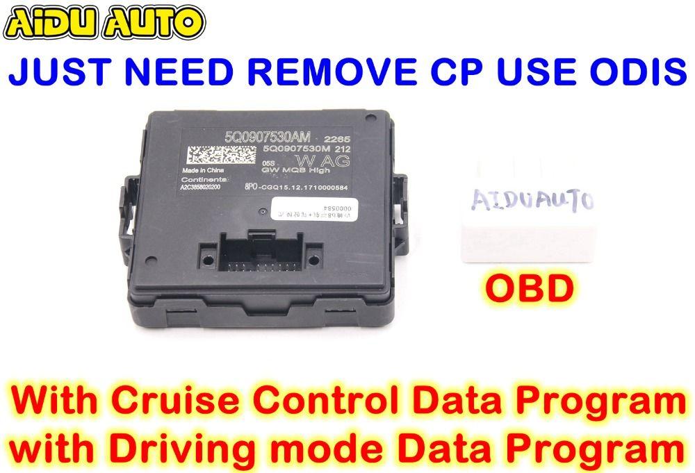 AIDUAUTO 5Q0907530AM MQB Hohe Canbus Gateway Für VW Golf 7 MK7 Passat B8 Tiguan Mit Fahren modus Cruise Control Daten programm