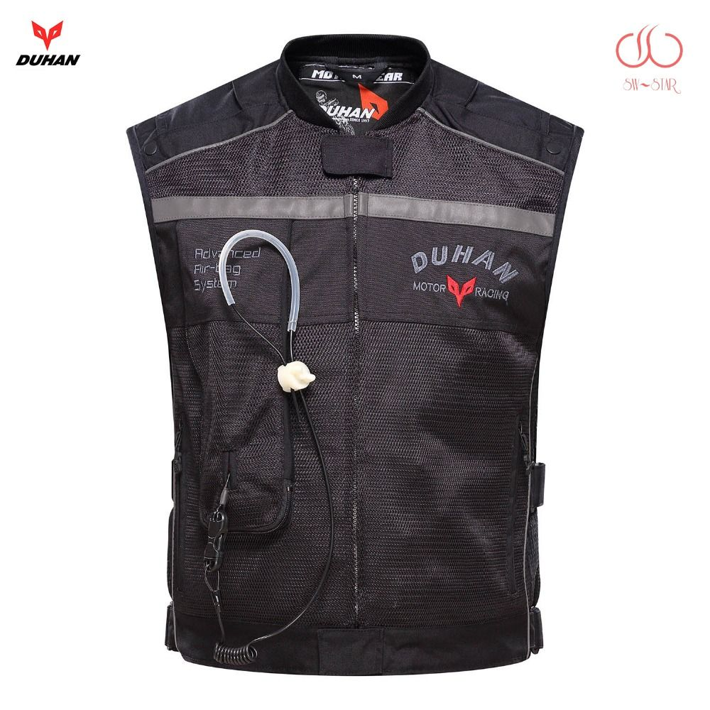 Motorcycle air-bag vest Duhan air bag vest moto racing professional advanced air bag system motocross protective airbag cylinder