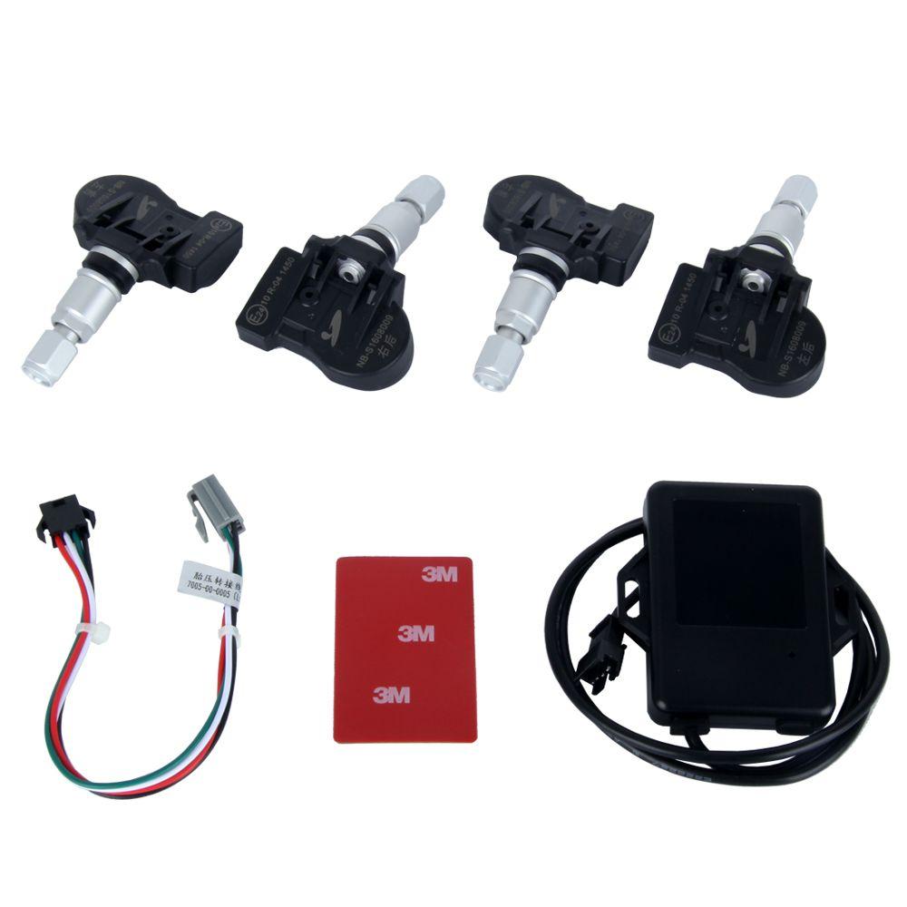 Spezielle Hotaudio Dasaita marke eingebaute TPMS Auto Reifendruck-kontrollsystem Autoreifen Diagnose-tool mit Mini Inneren Sensor