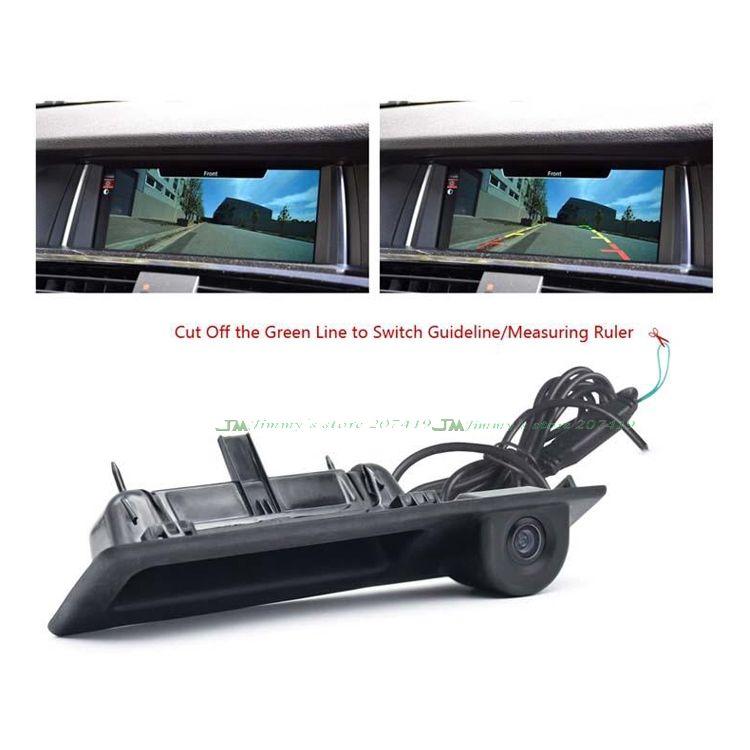 Pour Sony ccd caméra arrière de voiture pour BMW poignée de coffre interrupteur caméra de stationnement F10 F11 F25 F30 BMW 5 BMW 5/3 X3 caméra de recul