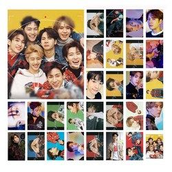 30Pcs/Set KPOP GOT7 Album EYES ON YO Self Made Paper Poster Photo Card Lomo Card Photocard Fans Gift Collection Stationery Set